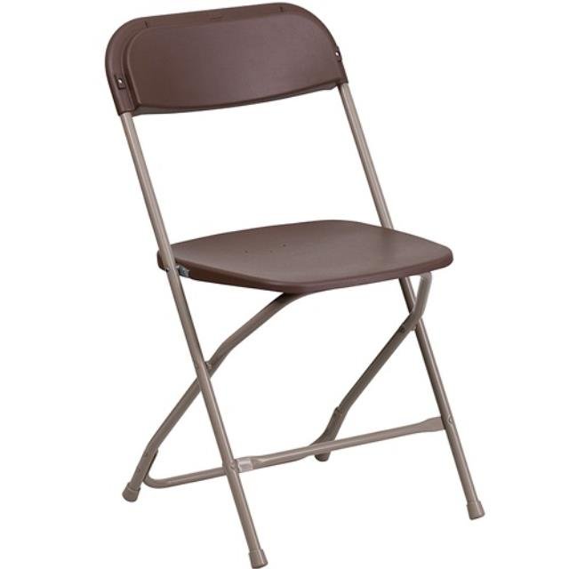 Where to rent CHAIR, BROWN PLASTIC in Baton Rouge Louisiana, Gonzales, Zachary, Denham Springs, Port Allen, Walker, Prairieville, Plaquemine, Baker, Central, St. Francisville, New Roads LA