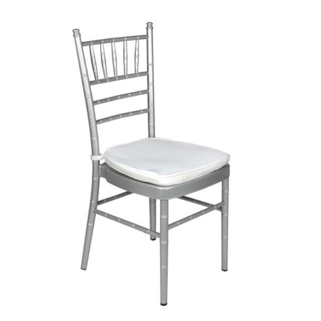 Where to rent CHAIR, CHIAVARI SILVER in Baton Rouge Louisiana, Gonzales, Zachary, Denham Springs, Port Allen, Walker, Prairieville, Plaquemine, Baker, Central, St. Francisville, New Roads LA