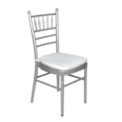 Rental store for CHAIR, CHIAVARI SILVER in Baton Rouge LA