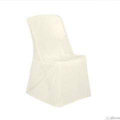 Rental store for CHAIR COVER, IVORY STANDARD in Baton Rouge LA