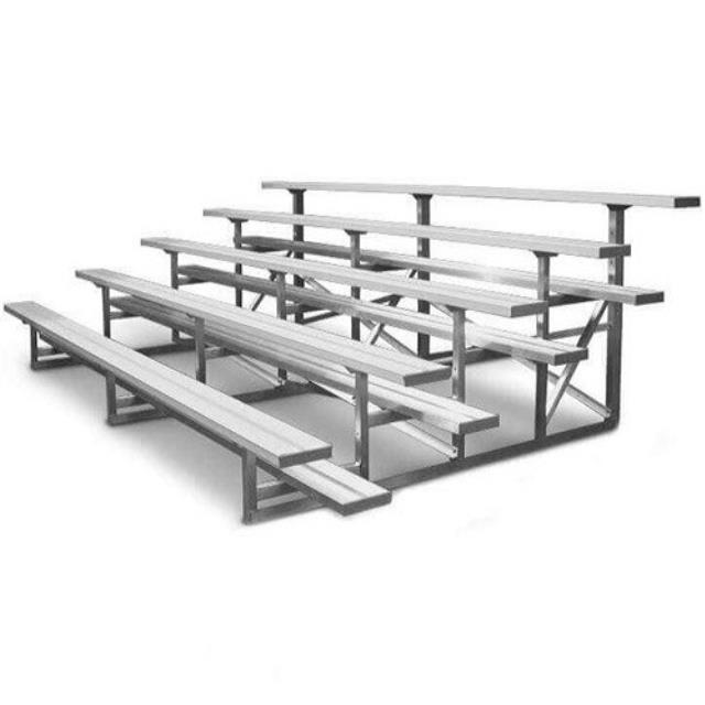 Where to rent BLEACHERS, 5 ROW  14 LONG in Baton Rouge Louisiana, Gonzales, Zachary, Denham Springs, Port Allen, Walker, Prairieville, Plaquemine, Baker, Central, St. Francisville, New Roads LA