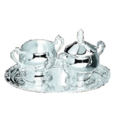 Rental store for SUGAR CREAM SET, SLV 3 PC in Baton Rouge LA