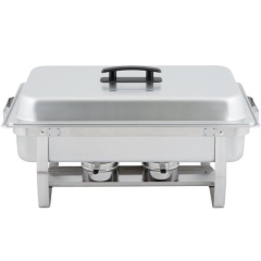Rental store for CHAFING, STAINLESS 8 QT RECT in Baton Rouge LA