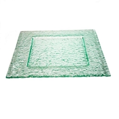 Rental store for PLATTER, GLASS SQUARE 21  X 21 in Baton Rouge LA