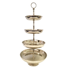 Rental store for TRAY, 4 TIER SILVER in Baton Rouge LA