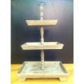 Rental store for STAND, WOOD TIERED RECTANGULAR in Baton Rouge LA