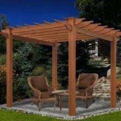 Rental store for PERGOLA  110 W X 110 L X 95 H in Baton Rouge LA