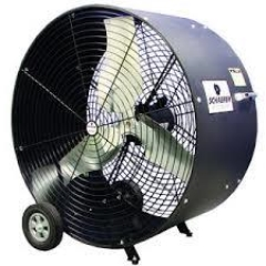 Rental store for FAN, 36  POLY DRUM BLACK in Baton Rouge LA