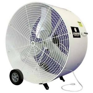 Where to rent FAN, 36  POLY DRUM WHITE in Baton Rouge Louisiana, Gonzales, Zachary, Denham Springs, Port Allen, Walker, Prairieville, Plaquemine, Baker, Central, St. Francisville, New Roads LA