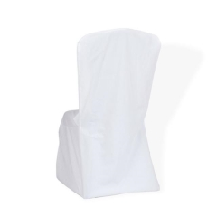 Rental store for CHAIR COVER, WHITE UNIVERSAL in Baton Rouge LA