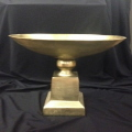 Rental store for BOWL ON PEDESTAL, GOLD in Baton Rouge LA