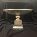 Rental store for BOWL ON PEDESTAL, SILVER in Baton Rouge LA