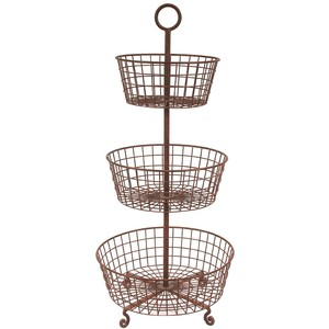 Where to rent BASKET, 3-TIER METAL in Baton Rouge Louisiana, Gonzales, Zachary, Denham Springs, Port Allen, Walker, Prairieville, Plaquemine, Baker, Central, St. Francisville, New Roads LA