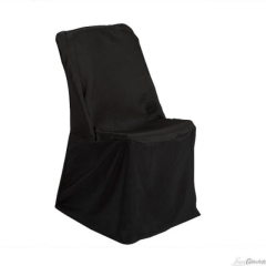 Rental store for CHAIR COVER, BLACK UNIVERSAL in Baton Rouge LA