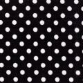 Rental store for BLACK AND WHITE POLKA DOT LINENS in Baton Rouge LA
