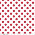 Rental store for RED AND WHITE POLKA DOT LINENS in Baton Rouge LA