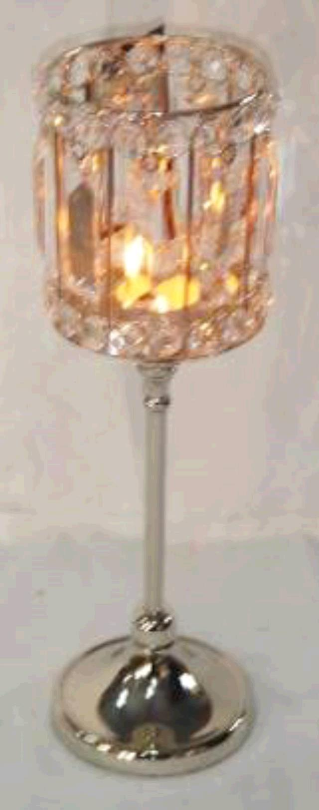 Where to rent CANDLE HOLDER, CRYSTAL MEDIUM in Baton Rouge Louisiana, Gonzales, Zachary, Denham Springs, Port Allen, Walker, Prairieville, Plaquemine, Baker, Central, St. Francisville, New Roads LA