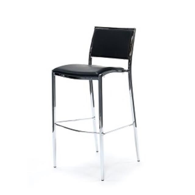 Where to rent STOOL, BAR CHROME W  BLACK SEAT in Baton Rouge Louisiana, Gonzales, Zachary, Denham Springs, Port Allen, Walker, Prairieville, Plaquemine, Baker, Central, St. Francisville, New Roads LA