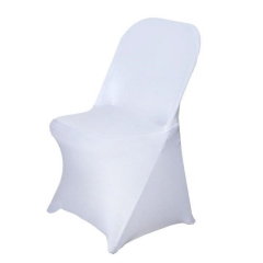Rental store for CHAIR COVER- WHITE SPANDEX in Baton Rouge LA