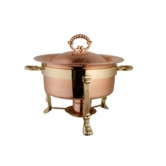 Rental store for CHAFING, ROSE GOLD 4QT in Baton Rouge LA