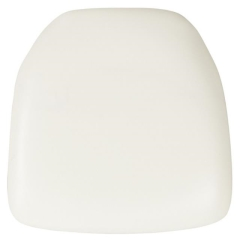 Rental store for CHAIR CUSHION, WHITE VINYL in Baton Rouge LA