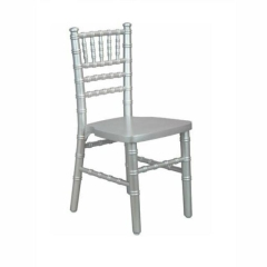 Rental store for CHAIR, CHILDRENS SILVER CHIAVARI in Baton Rouge LA