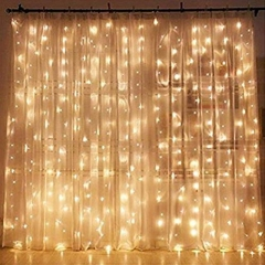 Rental store for LED STRING CURTAIN, 9.8FT WARM in Baton Rouge LA