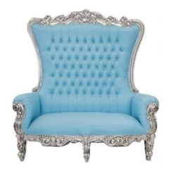 Rental store for THRONE, LOVESEAT BLUE in Baton Rouge LA