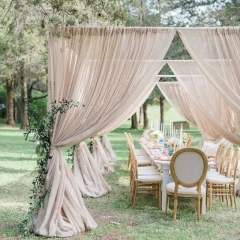 Rental store for DRAPE, TAUPE VOILE- 12 L in Baton Rouge LA